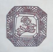 001. Chrysanthemen Plate