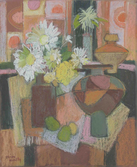 Huntly Moira Still Life with Flowers