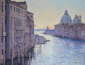 Norman Michael First Light on the Grand Canal