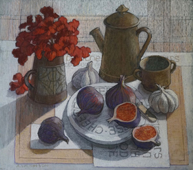 Wilkinson Ann Still Life with Figs